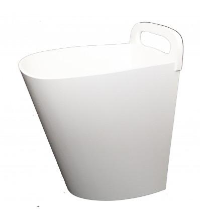 Bac à sciure Ziya Clean Blanc